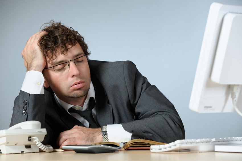 Is there a relationship between sitting long hours and sleep?