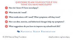 Questions for Your Doctor About Narcolepsy