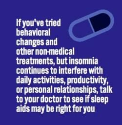 Safe Use of Sleep Aids