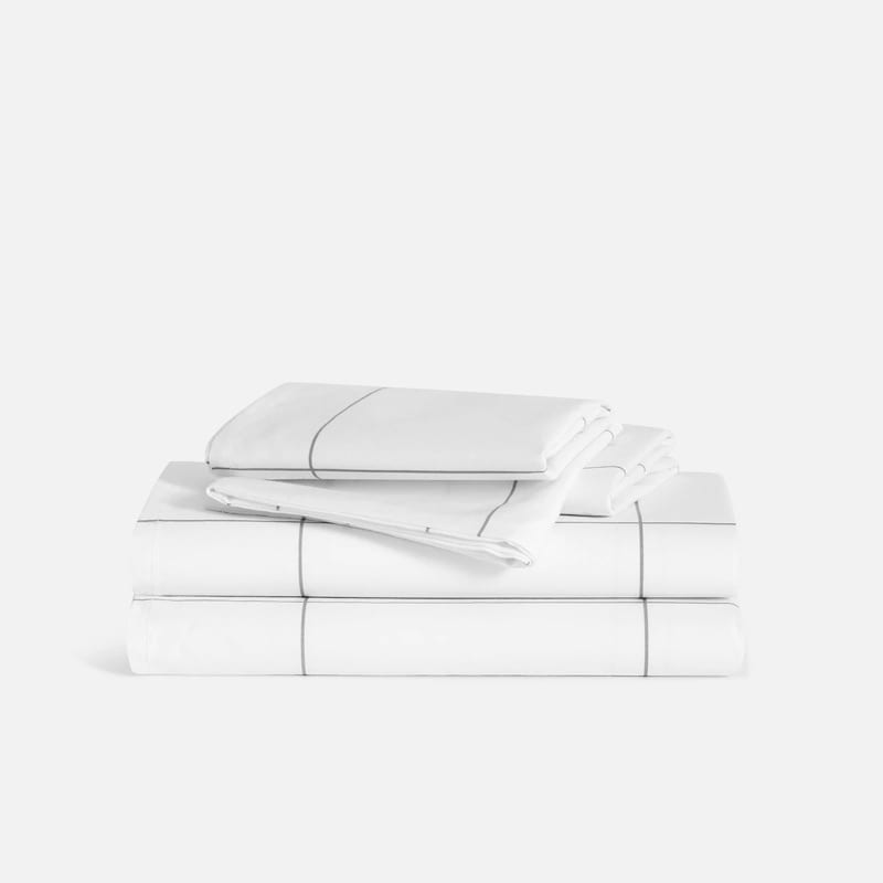 Brooklinen Classic Core Percale Sheet Set