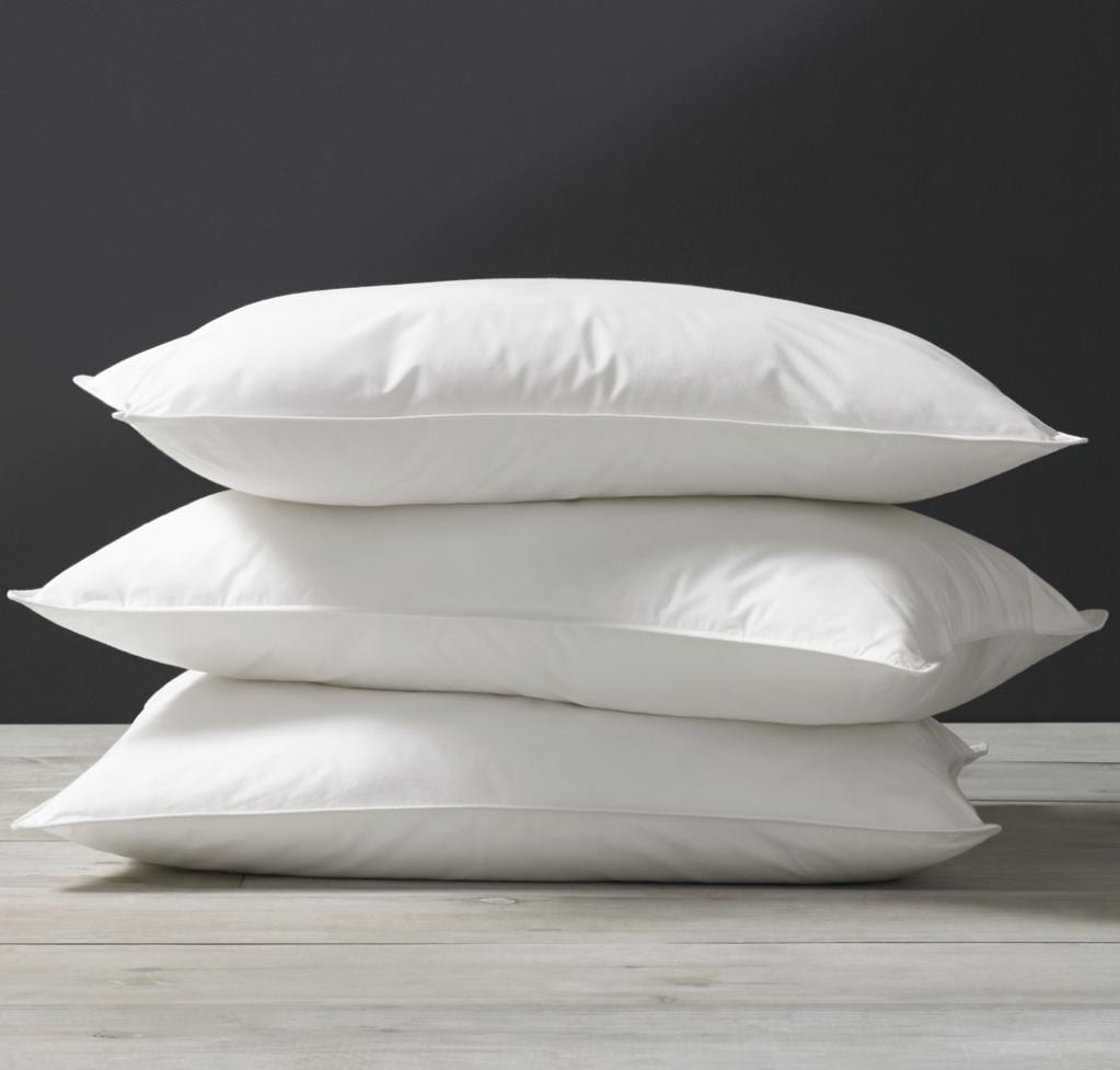 Kassatex White Goose Down Pillow
