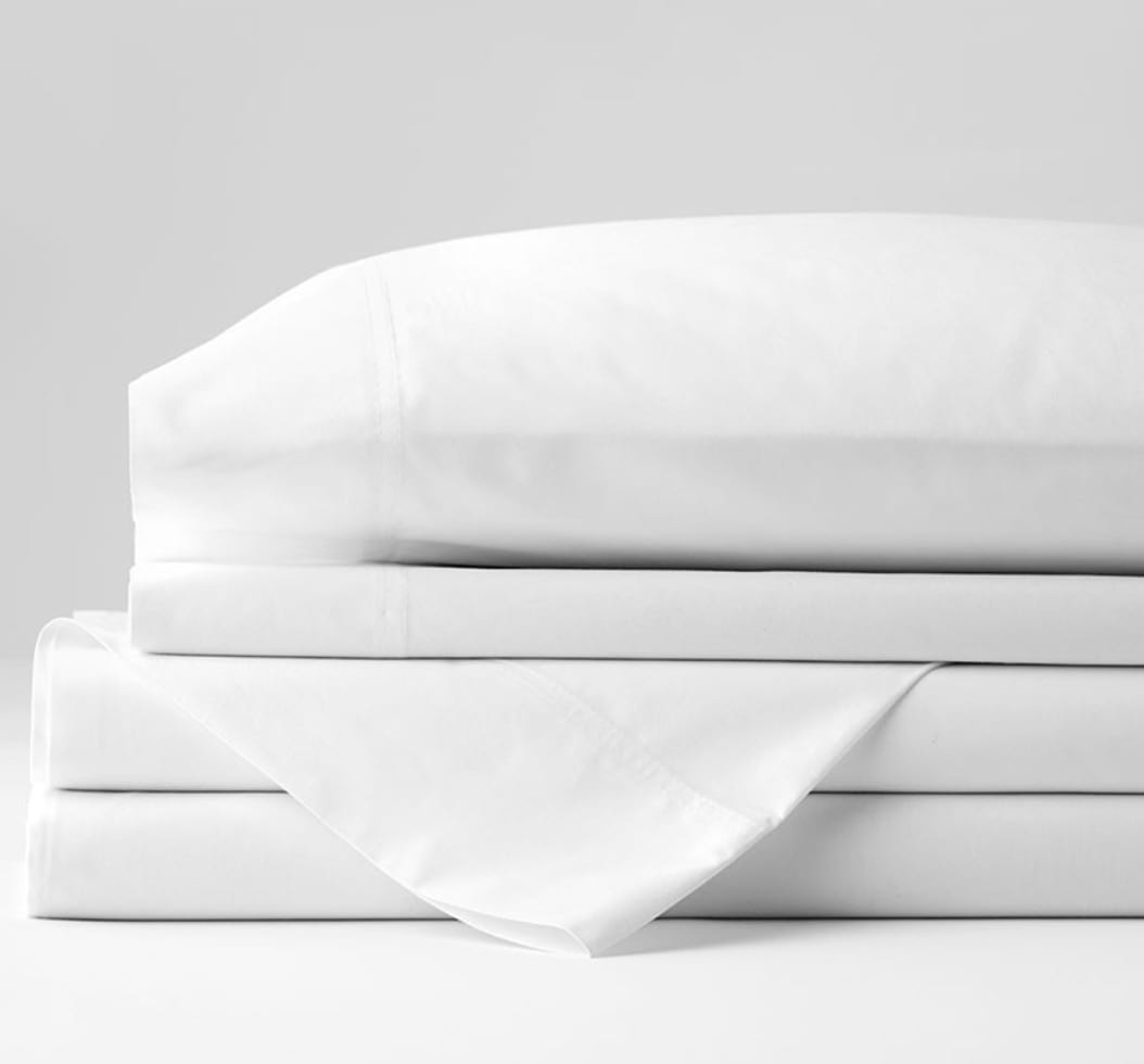 The Company Store Company Organic Cotton Percale Sheet Set