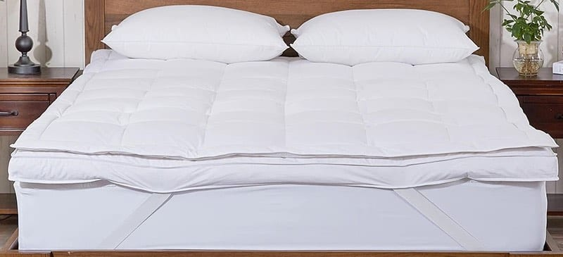 Pure Down Goose Feather Mattress Topper