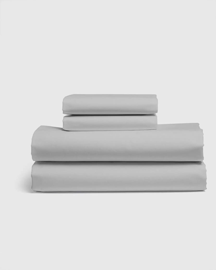 Quince Organic Percale Luxe Sheet Set