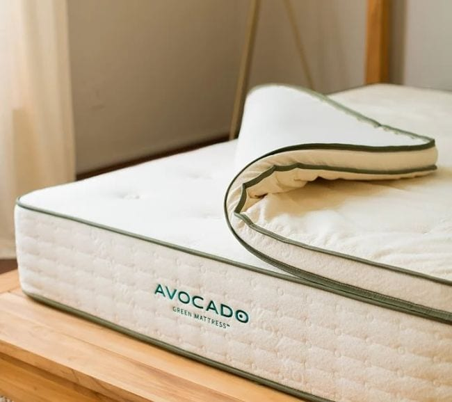 Avocado Vegan Firm Mattress Topper