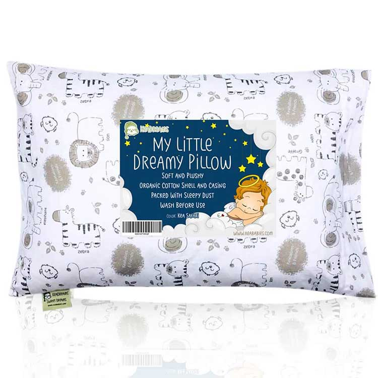 KeaBabies Toddler Pillow
