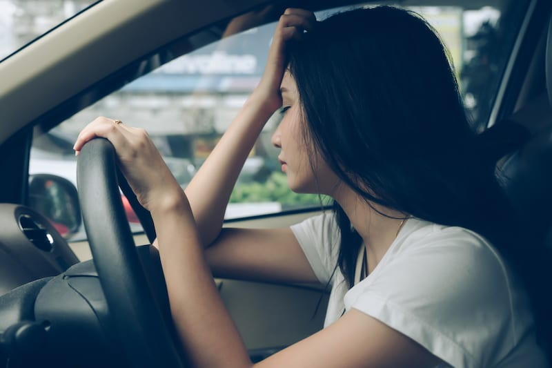 Stop the Vehicle If You Feel Tired