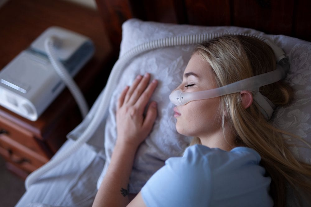 Cpap Mask Sleeping Position
